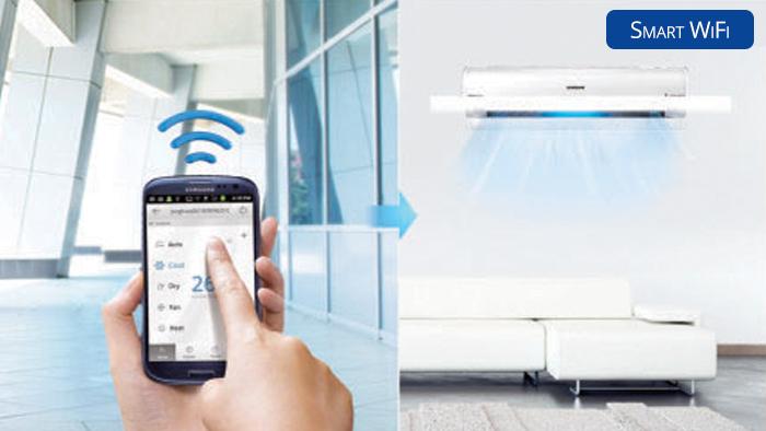Airconditioning Service Nederland - Samsung Wind Free Smart WiFi