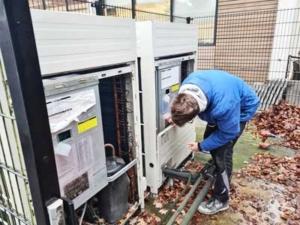 Service aan een VRF systeem, Driebergen-Rijsburg