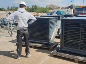 90 lucht-water warmtepompen in bedrijf gesteld, Woerden