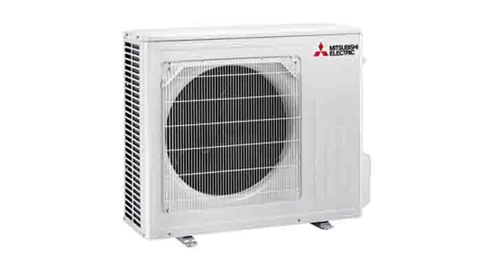 Buitendeel Mitsubishi Electric 5-6 kW - Airconditioning & warmtepomp Service Nederland