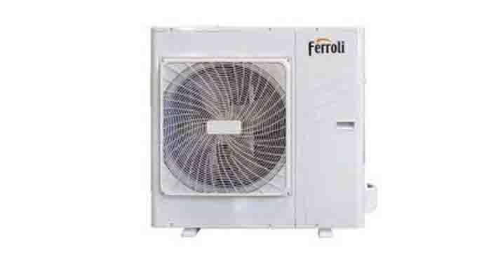 Ferrolli Omnia Hybrid HY 04E 28C buitendeel - Airconditioning & warmtepomp Service Nederland