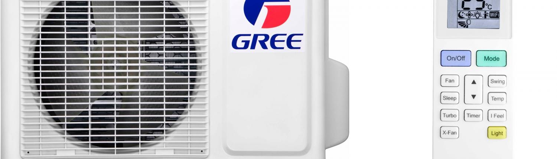 Gree buitendeel met remote - Airconditioning & warmtepomp Service Nederland