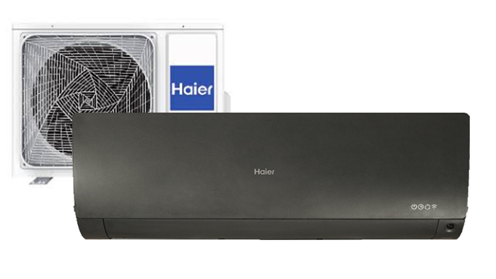 Haier Flexis mat Zwart - Airconditioning & warmtepomp Service Nederland