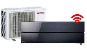 Mitsubishi Electric onyx black 2,5:3,5 - Airconditioning & warmtepomp Service Nederland