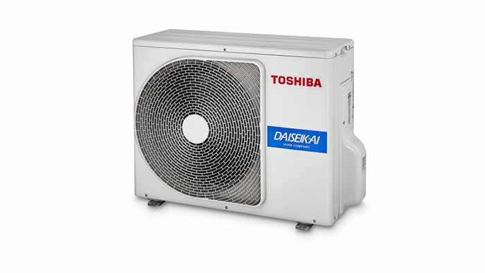 Toshiba Daisaikai buitendeel - Airconditioning & warmtepomp Service Nederland