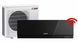 Zen mode zwart 5kW set - Airconditioning & warmtepomp Service Nederland
