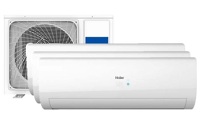 Haier Flair Multi 3 binnendelen - Airconditioning & warmtepomp Service Nederland
