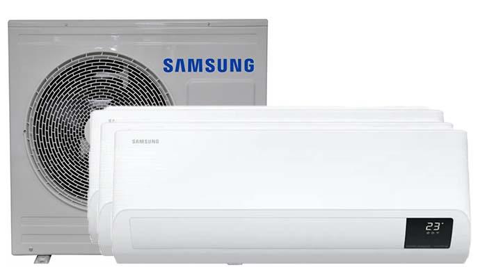 Samsung Wind-Free comfort Multi 3 binnendelen - Airconditioning & warmtepomp Service Nederland