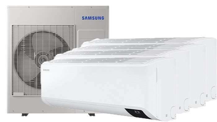 Samsung Wind-Free Elite Multi 4 binnendelen - Airconditioning & warmtepomp Service Nederland