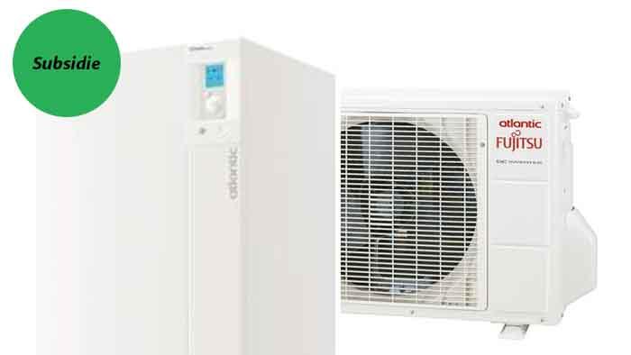 Atlantic Alfea Duo Extensa Lucht-Water Warmtepomp met Buitenunit - Airconditioning & warmtepomp Service Nederland