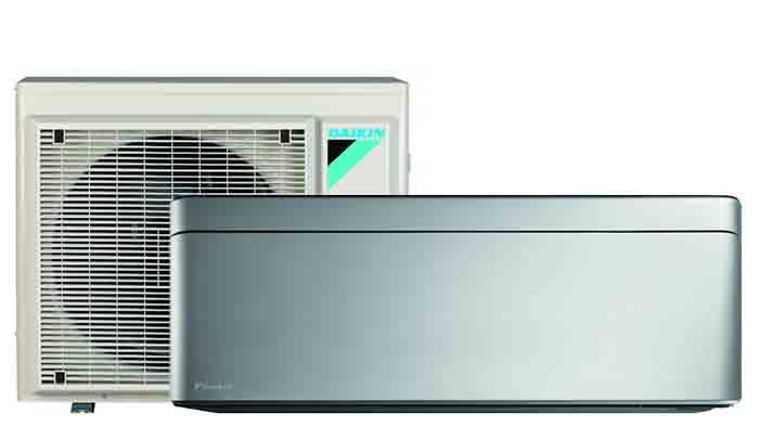 Daikin Stylish silver- Airconditioning & warmtepomp Service Nederland