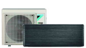 Daikin Stylish black-Wood - Airconditioning & warmtepomp Service Nederland