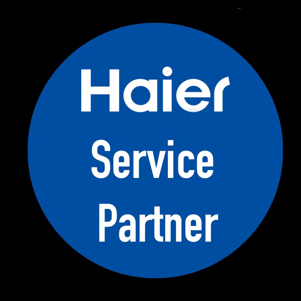 Haier Service partner logo - Airconditioning & warmtepomp Service Nederland